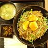 蓮田サービスエリア 下り線  - 料理写真:みそポテト丼