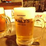 酒蔵大沼 - モルツ