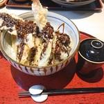 兎に角 - 穴子一本海鮮天丼980円