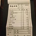 鳥伊勢 - 1人@3000で200円ちょっとお釣りが来ました!