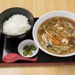 めん処マサムネ屋 - ちゃんぽん麺定食