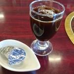 ナンスポ ビール園 - ランチにはコーヒーが付きます。