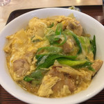水舟 - 親子丼500円