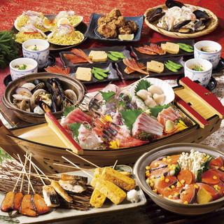 飲み放題付き宴会コースは3500円からご用意!