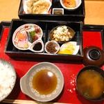 なお吉 - なお吉御膳(1,000円税込み)