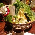 京野菜てんこ盛り