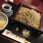 春日そば - 料理写真:なめこおろしせいろ970円