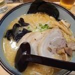 白樺山荘 - 味噌チャーシューメン(980円)