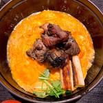 宮崎料理 万作 - よかもよか卵と霧島鶏の親子丼御膳