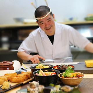 ー元高級店の板前が手がける、本格板前寿司をリーズナブルにー