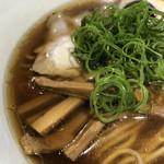 Japanese Soba Noodles 蔦 - 細メンマ、九条ネギ