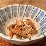 蕎麦前 小まつ - 昼御膳 1,100円 小鉢