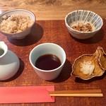 蕎麦前 小まつ - 昼御膳 1,100円