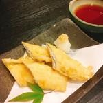 96370281 - 保田港産タチウオの天ぷら  500円