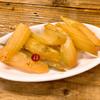 サジスタンド - 料理写真:セロリのキンピラ300円