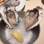 Oyster Bar ジャックポット - 昆布森(1個小さくて残念)