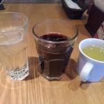 トニーローマ - 水・アイスコーヒー・スープ