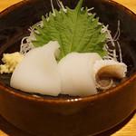 石臼挽き手打 蕎楽亭 - スミイカの刺身
