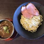 梅花亭 - つけ麺(限定) 900円