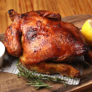 \限定10食/このサイズでこの価格!?◆丸鶏のローストチキン