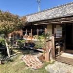畑カフェ レインボーアート - 店舗入口