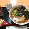 ほていや - 料理写真:蕎麦屋のラーメン(ネギ別盛り ラー油 胡椒 お冷付き)