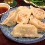 思郷村 - 蝦水餃(海老入り水餃子)