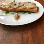 サンドイッチストア - 料理写真:自家製ハムのタルティーヌ