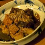 唐火七 - マグロと山芋のゴマ風味