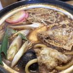 遠州庵 - 料理写真:うどんアップ、たまごが嬉しい