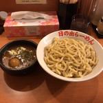 日の出らーめん - 剛つけ麺味玉 大盛  880円