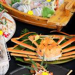 越前海の幸料理はまさき - 料理写真:
