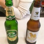 96386803 - タイビールCHANG &SINGHA  各550円