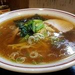 中華料理タカノ - 煮干しの味わいのスープ