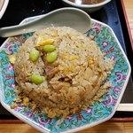 中華料理タカノ - 上空からチャーハン