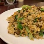 桃李 - 料理写真:牛肉入りチャーハン