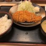 松乃家 - 徳朝ロースかつ定食