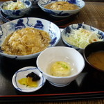 三本松茶屋 - 湯葉丼