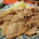 花でん - 豚のしょうが焼き定食