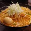 大塚屋 - 料理写真:辛味噌ラーメン、大盛、味玉