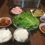 焼肉 いこい - サンギョプサル食べ放題