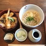 96394032 - 天丼蕎麦セット