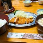 96394407 - トンカツ定食     ¥1200