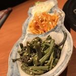 焼肉 金タレ - ナムル3種盛り合わせ  480円