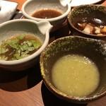 焼肉 金タレ - タレ4種類