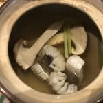 日本料理花ゆう - 松茸の土瓶蒸し付き