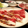 百万石 - 料理写真:やきすき*牛バラ/牛ロース(食べ放題)