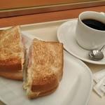 ドトールコーヒーショップ - [料理] 朝カフェ セットA 全景♪w