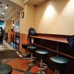 ドトールコーヒーショップ - [内観] 店内 カウンター席 ①