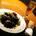 イルカッフェ - セットのサラダ